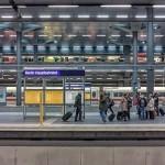 Bahnfahrt für Unternehmer